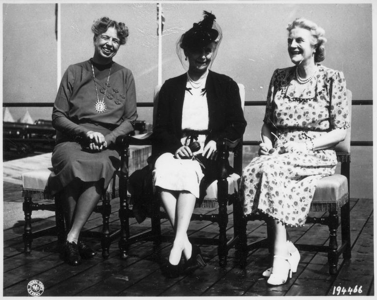 Eleanor Roosevelt; HRH Princess Alice, Countess of Athlone; Clementine Churchill